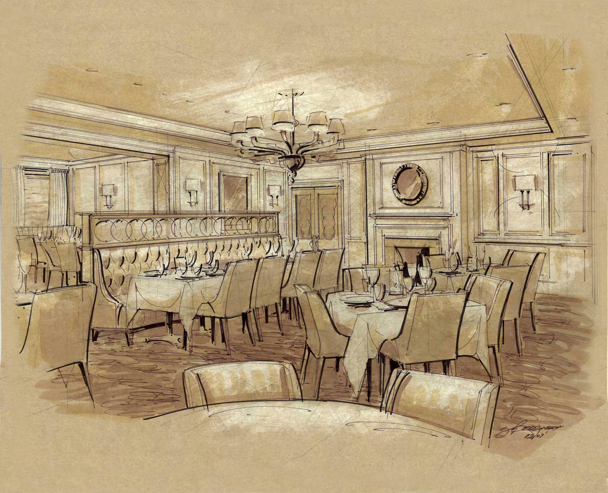 Formal Dining Rendering