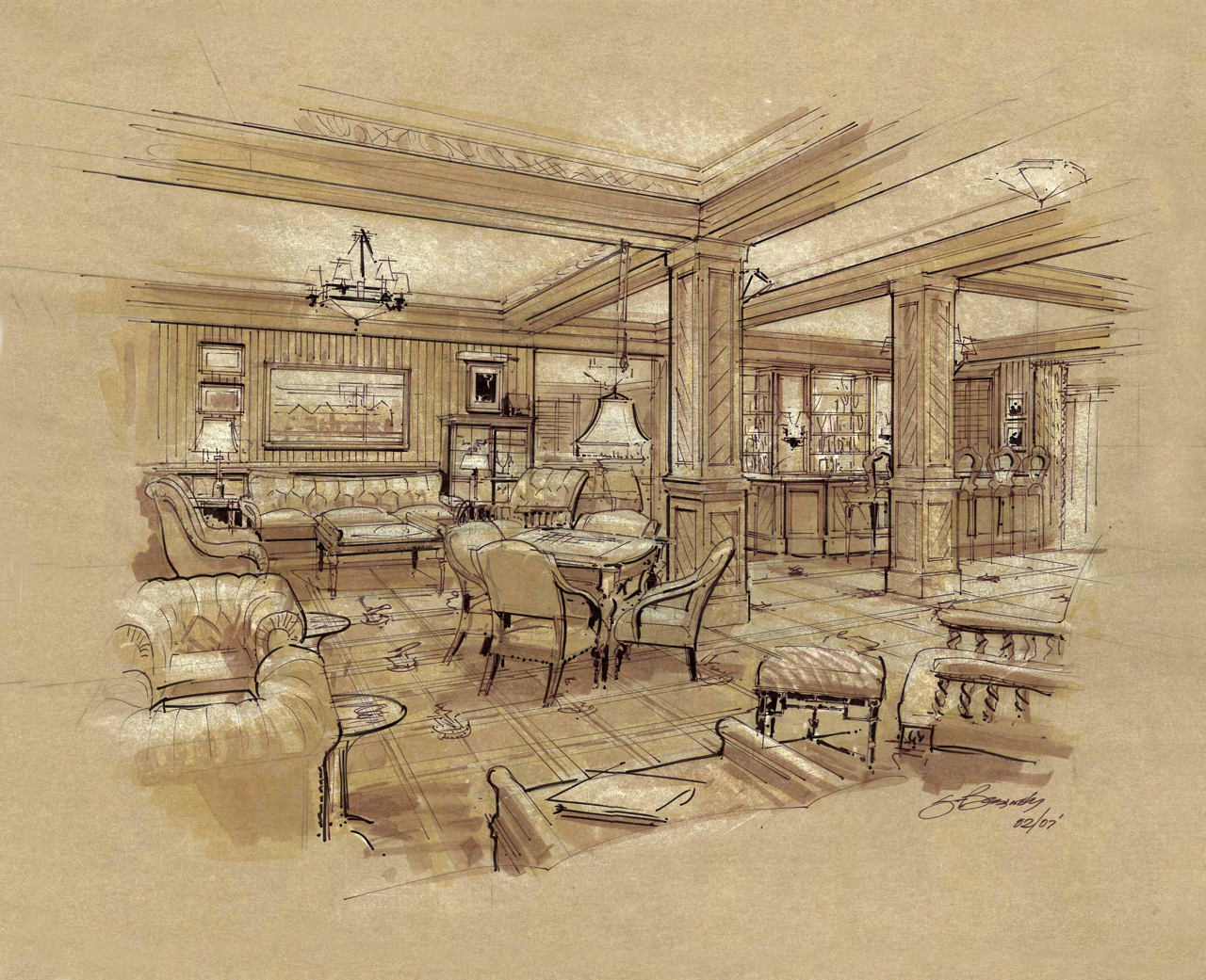 Informal Dining Rendering