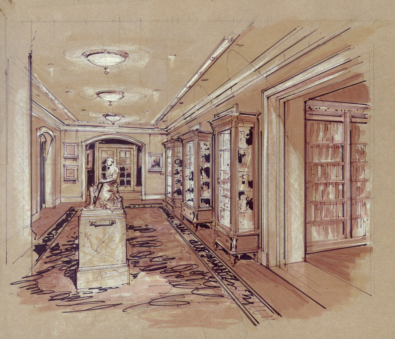 Archives Hall Rendering